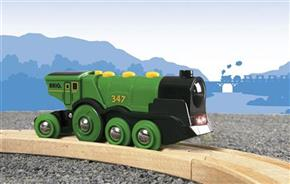 Big Green Action Locomotive