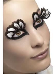 Brown Feathers Fever Eyelashes