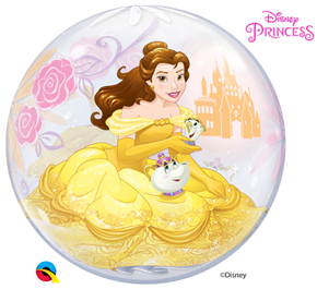 Disney Princess Belle Balloon Bubble