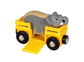Elephant & Wagon