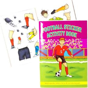 Football A6 Sticker Books 24 page