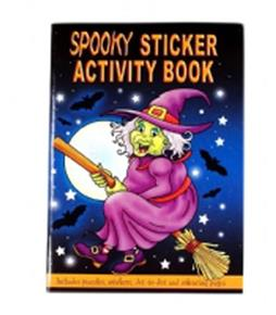 Halloween A6 Sticker Book 24 pages