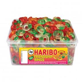 Haribo Friendship RingsTub