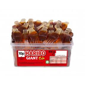 Haribo Giant Cola Bottles Tub