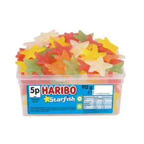 Haribo Starfish Tub