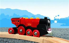 Mighty Red Action Loco