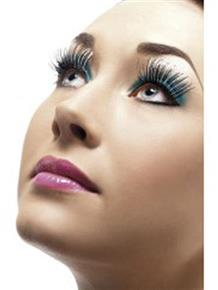 Silver & Black Holographic Fever Eyelashes