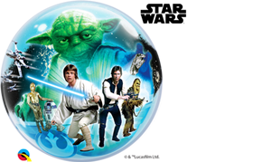 Star Wars Balloon Bubble