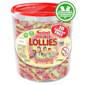 Swizzels Double Lollies Tub