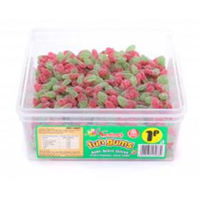 Swizzels Fun Gums Sour Apple Slices Tub